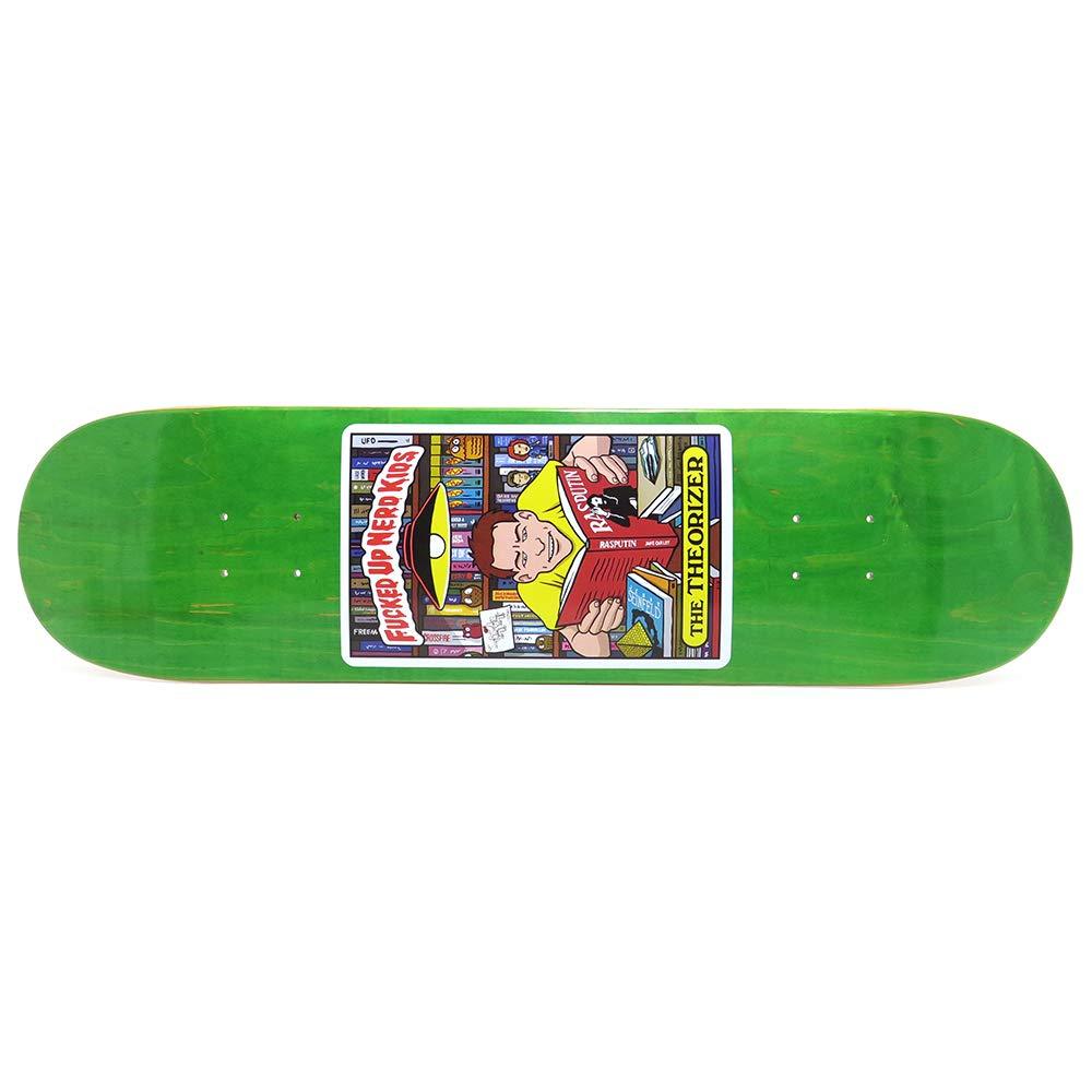【激安大特価!】 THEORIES GREEN DECK セオリーズ デッキ TEAM NERD B07PJ81HZ8 デッキ KID GREEN STAIN 8.0 スケートボード スケボー SKATEBOARD B07PJ81HZ8, マリイソル:741ffe97 --- kickit.co.ke