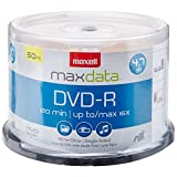 Maxell DVD Recordable Media -DVD-R -16x -4.70 GB -50 Pack Spindle -120mm