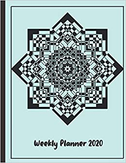 Mandala Weekly Planner 2020: 2020 Year At A Glance And ...