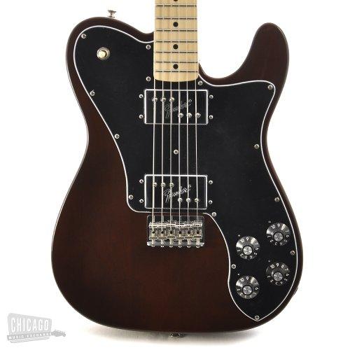Deluxe Telecaster Electric Guitar (Fender Classic Series '72 Telecaster Deluxe Electric Guitar, Walnut, Maple Fretboard)