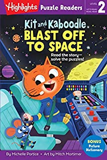 Book Cover: Kit and Kaboodle Blast off to Space