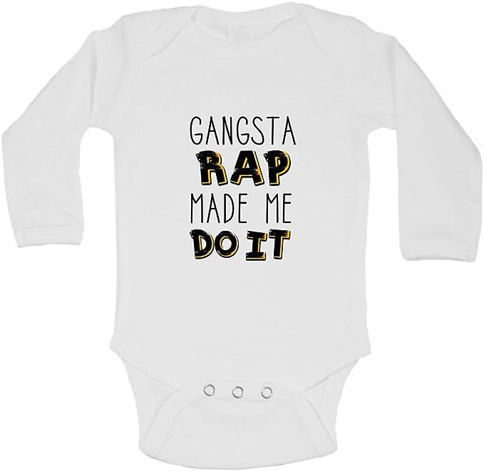 FanYe Unisex Baby Onesies Notorious Pug Long Sleeve Infant Bodysuit