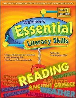 Webster's Essential Literacy Skills: Reading, Grade 3
