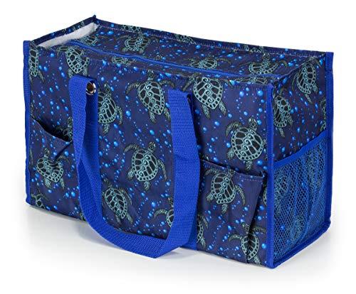 Bag Turtle Tote - All Purpose Utility Tote Bag (Sea Turtles)
