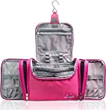 TRAVANDO XXL Toiletry Bag for Women 'MAXI' with Hanging Hook | Large Wash Bag | Many Pockets |...