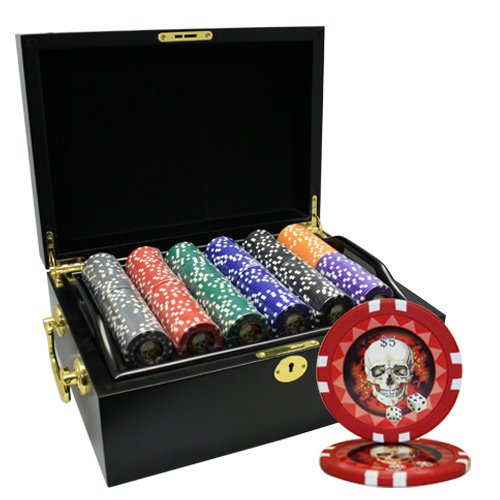 MRC 500枚入りSkull 500枚入りSkull MRC Poker Chipsセットwith木製ケースカスタム構築 B01D7T2GPW B01D7T2GPW, 遊岳人:8c9d7f89 --- itxassou.fr