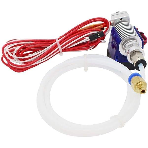 ANYCUBIC Hotend Extrusor 1.75 mm Hotend con tubo de Teflón de 2.0 ...