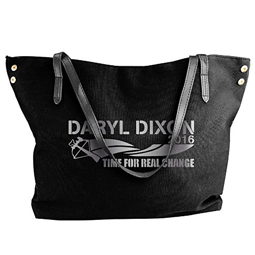 [DARYL DIXON 2016 Time For R Platinum Style Canvas Top Handle Handbags For Women] (Daryl Dixon Costumes)