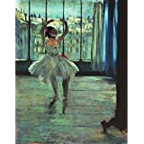 Canvas Prints Of Oil Painting 'Edgar Degas-Dancer In Front Of A Window, 1874-1877' 24 x 31 inch / 61 x 78 cm , Polyster Canvas Is For Gifts And Game Room, Home Office And Kids Room Decoration, giant