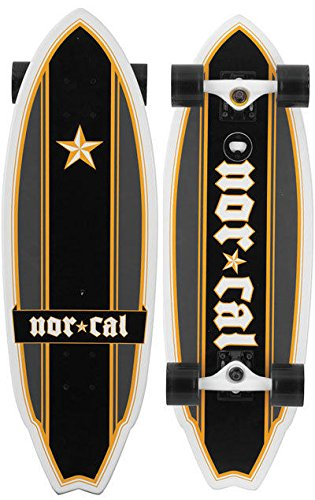 Amazon.com: Ni Cal tabla de longboard Medieval Shark Cruzer ...