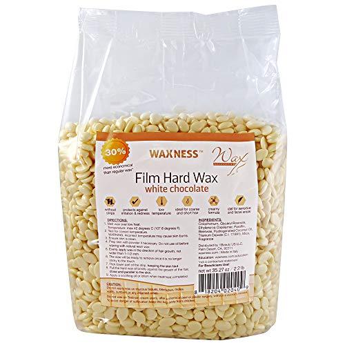 Wax Necessities Waxness Film Hard Wax White Chocolate Scented 35.27oz / 2.2 lb