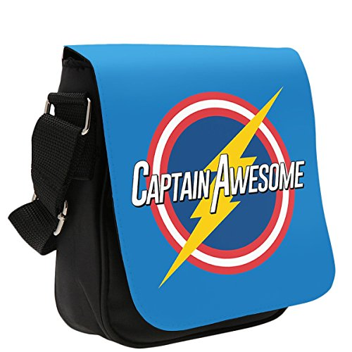Art Hustle Captain Awesome Classic Reporter Borsa