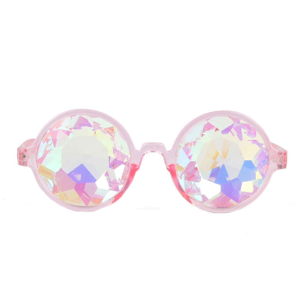 Careonline Festivals Kaleidoscope Glasses Rainbow Prism Sunglasses Goggles Amazon Prime Deals