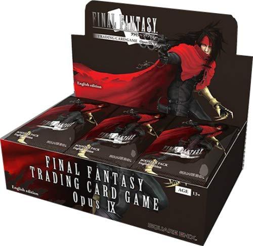 Final Fantasy TCG: Opus IX Lords and Chaos Booster Display (Final Fantasy Tcg Opus 1 Booster Box)
