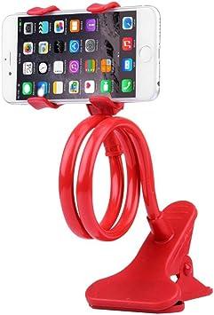 Soporte para teléfono móvil con Dos Abrazaderas y Soporte Flexible ...
