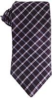 Joseph Abboud Purple plaid necktie