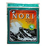 Maine Coast Sea Vegetables Nori, Toasted, 7 Sheets (Pack of 6) by Maine Coast