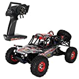 Costzon 1:12 2.4G 4WD RC Off-road Climbing Car High Speed Electric Racing Buggy 50KM/H with LED Light
