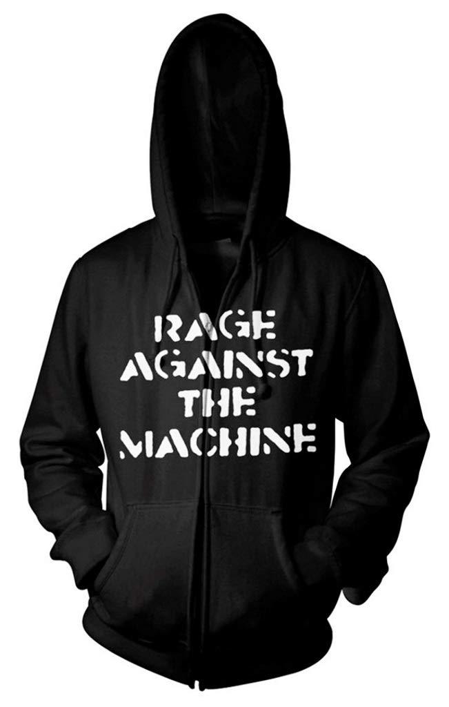 Rage Against The Machine 'Large Fist' Zip Up Hoodie