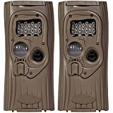 (2) CUDDEBACK Model F2 IR Plus 1309 Infrared Micro Game Hunting Cameras | 8MP