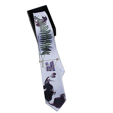 El Diseo De Casa Textile Printing Corbata Tinta Verde: Amazon.es ...