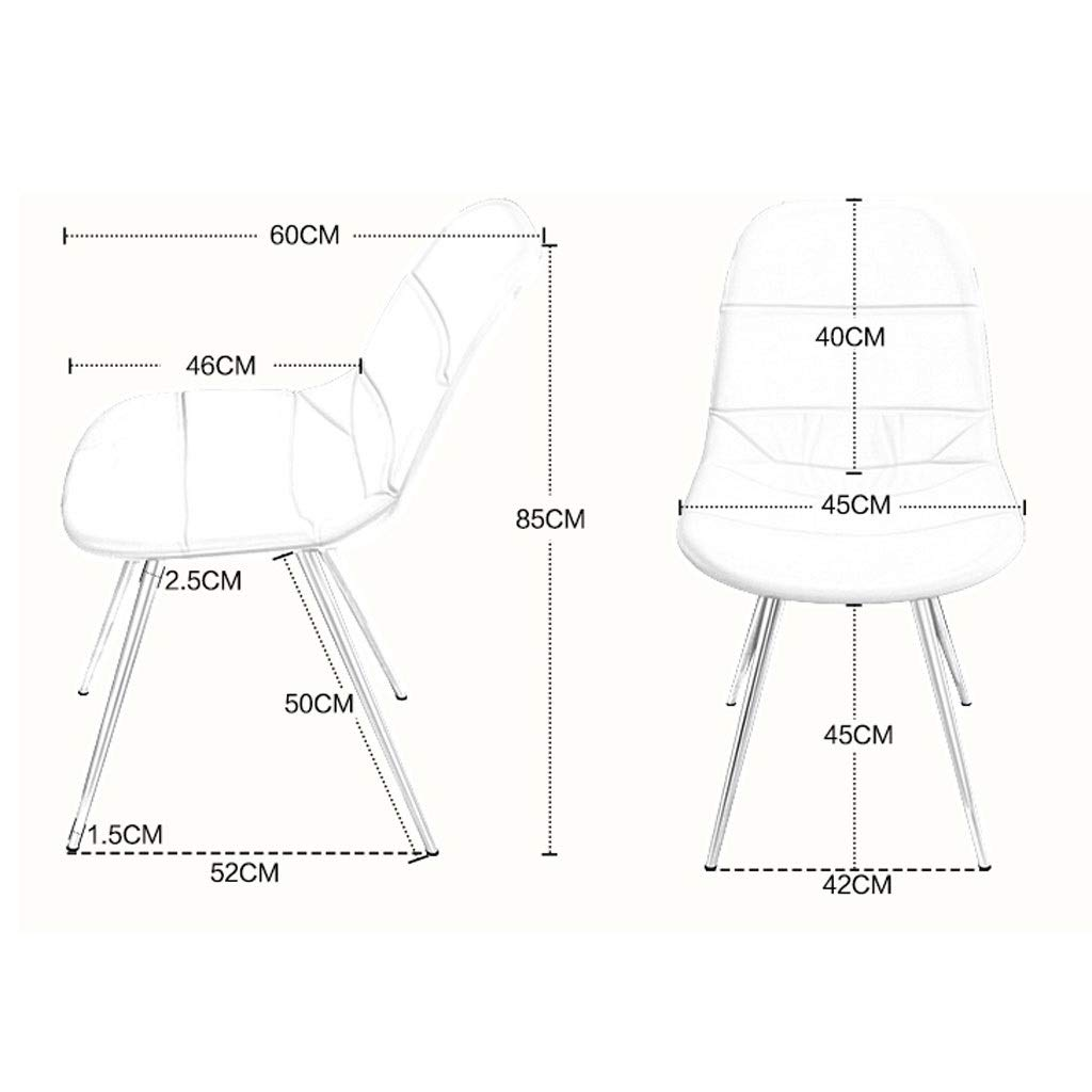 Amazon.com: FJZ Chair Silla De Comedor Silla De Computadora ...