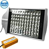 Outdoor Lights 84W High Power Waterproof White 84 LED Street Light, AC 85-250V Garden Lights (SKU : S-led-1607w)