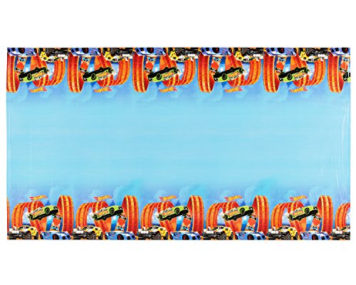 Hot Wheels Wild Racer Plastic Table Cover, Party Favor