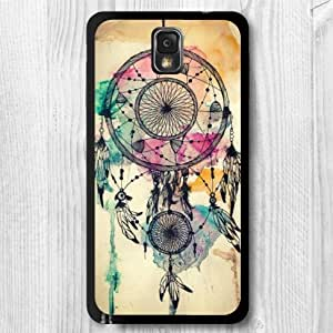 For Samsung Galaxy Note 3 Case, Watercolor Dream Pattern Fashion Design Protective Hard Phone Cover Skin Case For Samsung Galaxy Note 3 N9000 + Screen Protector