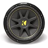 Kicker 10C104 Comp 10-Inch Subwoofer 4 Ohm (Black)