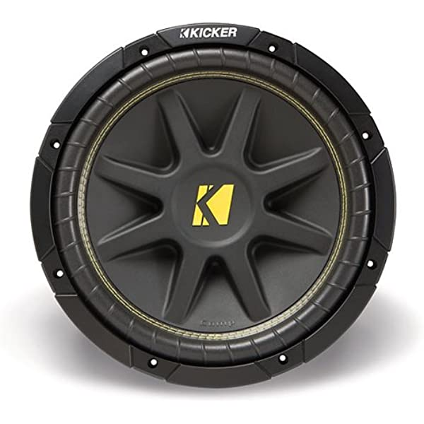 44CWCS104 KICKER 10 Inch CompC 500 Watt 4 Ohm Single Voice Coil SVC Subwoofer