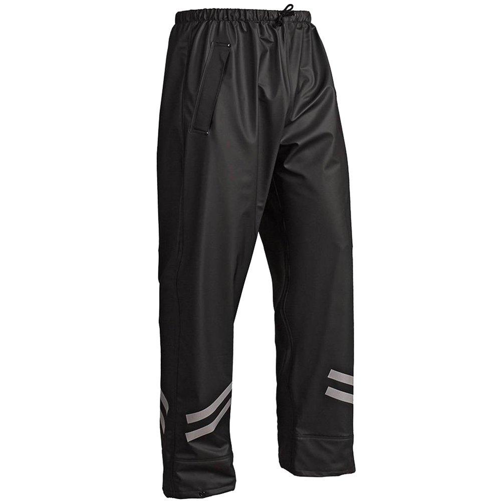 /13012000 Nero bl/åkl/äder Workwear pioggia pantaloni1301/en 343/classe 1 67-13012000-9900-3XL 67/