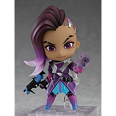 Good Smile Overwatch: Sombra Classic Skin Edition Nendoroid Action Figure: Toys & Games