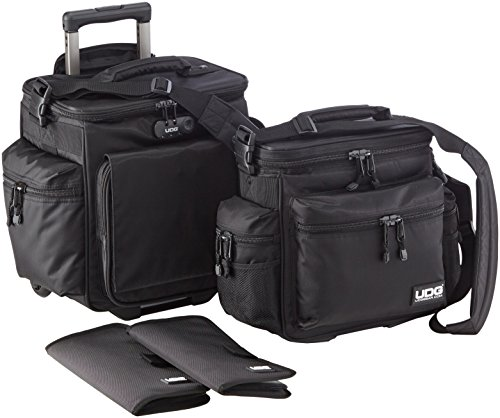 UDG Ultimate SlingBag Trolley Set DeLuxe MK2 Black by UDG