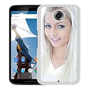 Beautiful Girl Cover Case For Google Nexus 6 With Annely Gerritsen Girl Mobile Wallpaper(11) Phone Case