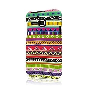 Empire Mpero Snapz Series - Carcasa de goma para Alcatel One Touch Evolve 5020T, diseño azteca