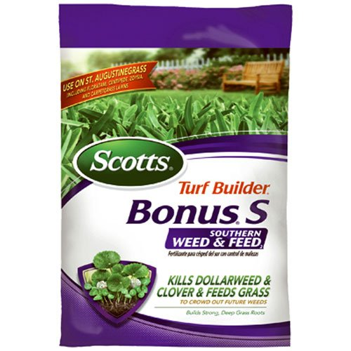 Scotts Turf Builder Bonus S Southern Weed & Feed Control Fertilizer, 10000 sq. ft. (Sold in select Southern states)