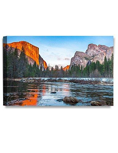 DecorArts Capitan Sunset Yosemite National