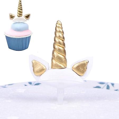 unicornio para tartas, decoración de tartas, unicornio ...
