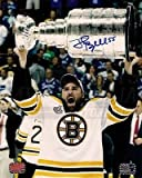 Johnny Boychuk Boston Bruins Signed Autographed Raising Stanley Cup 8x10