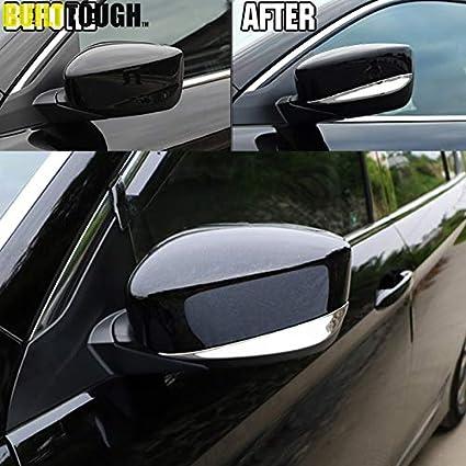 Car Sedan Side Door Rear view Mirror Cover Strip Trim For Honda Accord 2013-2014