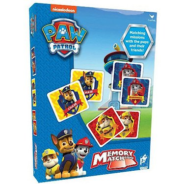 Nickelodeon Paw Patrol Memory Match Game Association For