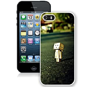 Beautiful Unique Designed iPhone 5S Phone Case With Lonely Dan Board Close Up_White Phone Case