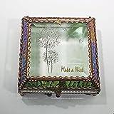 Dandylion Make a Wish 5X5 COPPER Jewelry Box