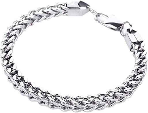 Aokarry Stylish Men Chains Alloy Curb Chain Necklace for Men