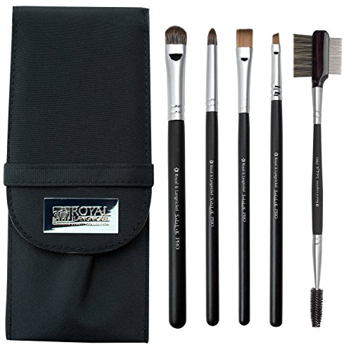 Royal Brush S.I.L.K 5 Piece Eye Brush Set, - Si Eye