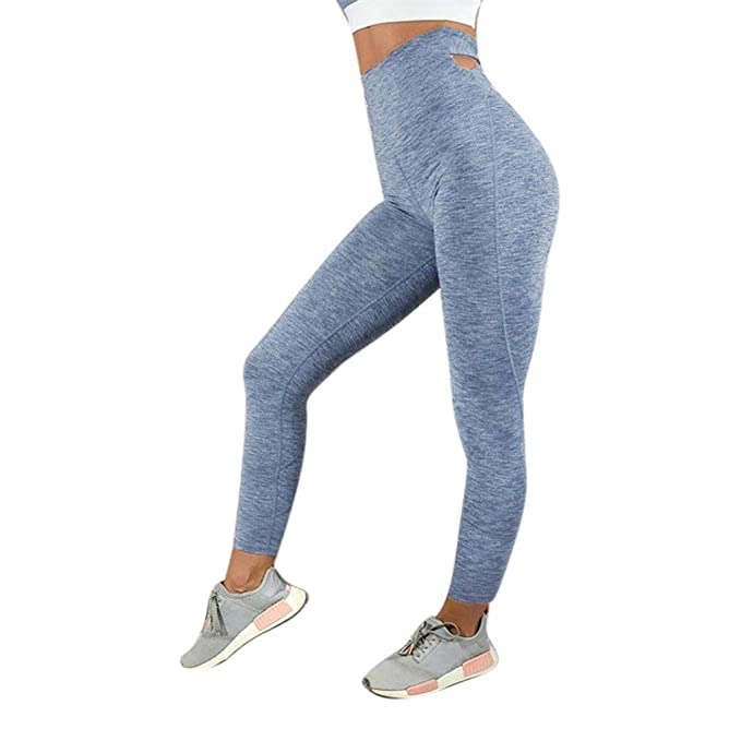Amazon.com: Dream Room Womens High Waist Gym Workout ...