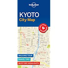 Lonely Planet Kyoto City Map 1st Ed.: 1st Edition