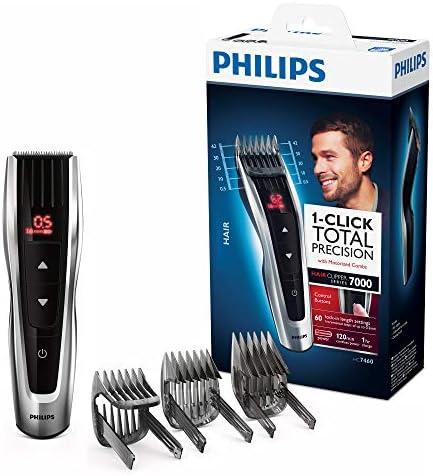 Philips HC7460/15 - Cortapelos con cuchillas de acero inoxidable ...