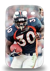 Defender 3D PC Case With Nice Appearance NFL Denver Broncos Terrell Davis #30 For Galaxy S3 ( Custom Picture iPhone 6, iPhone 6 PLUS, iPhone 5, iPhone 5S, iPhone 5C, iPhone 4, iPhone 4S,Galaxy S6,Galaxy S5,Galaxy S4,Galaxy S3,Note 3,iPad Mini-Mini 2,iPad Air )